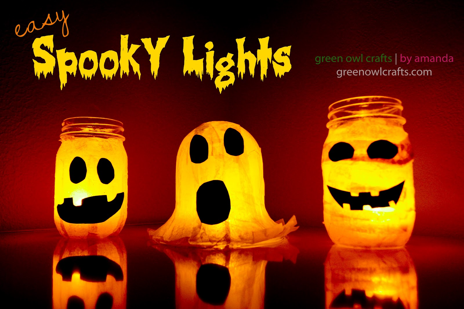 Easy Halloween Craft Luminaries For The Kids