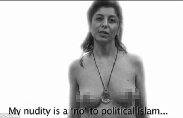 Tasteful Nudes: WOMEN TAKE IT ALL OFF TO PROTEST IRAN