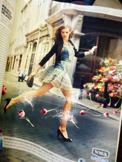 Brides Magazine: Schick Hydro Silk