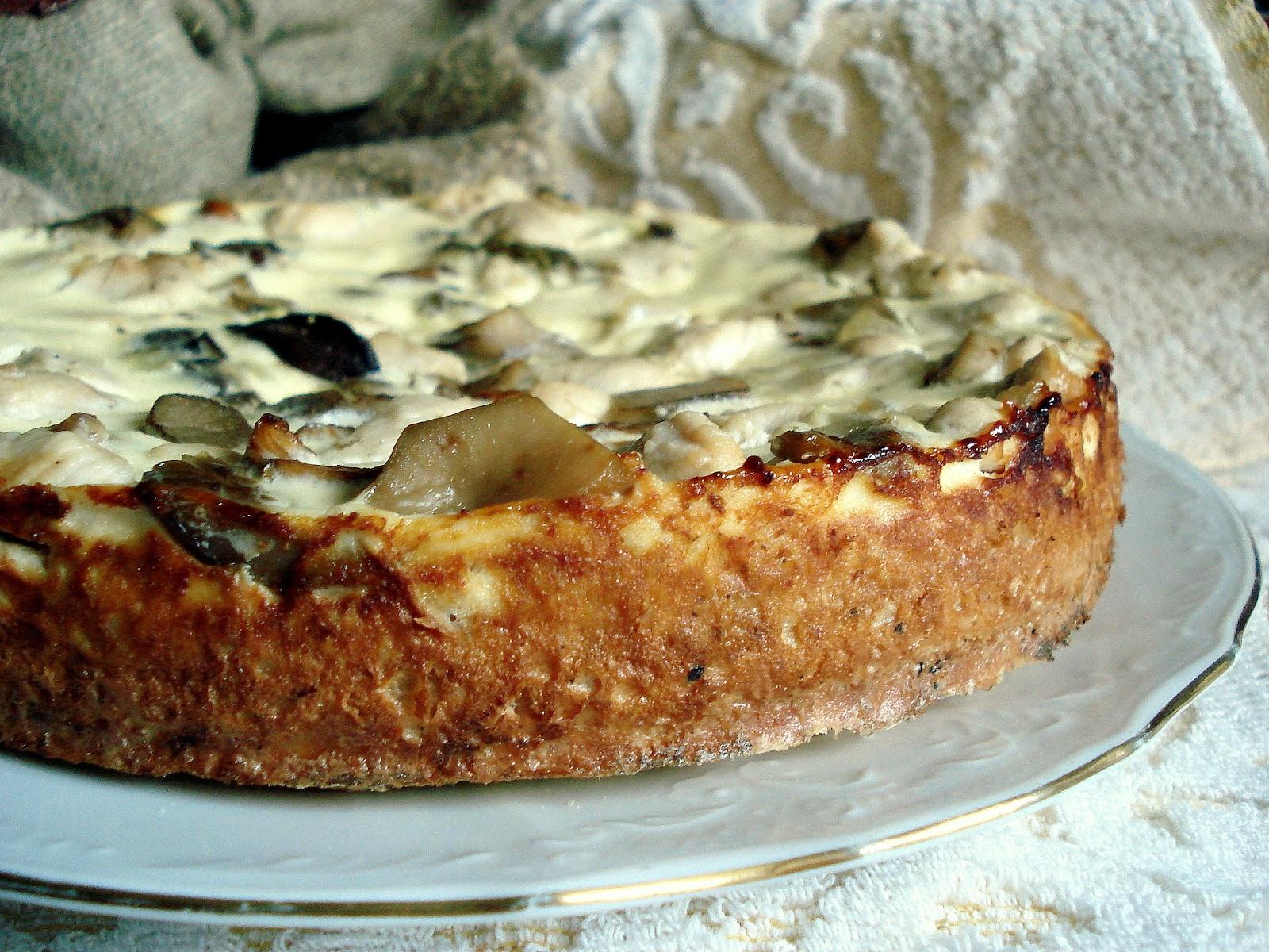 Пирог из слоеного теста с замороженной смородиной рецепт