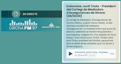 Entrevista Jordi Triola GironaFM