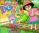 Watering Dora Dressup