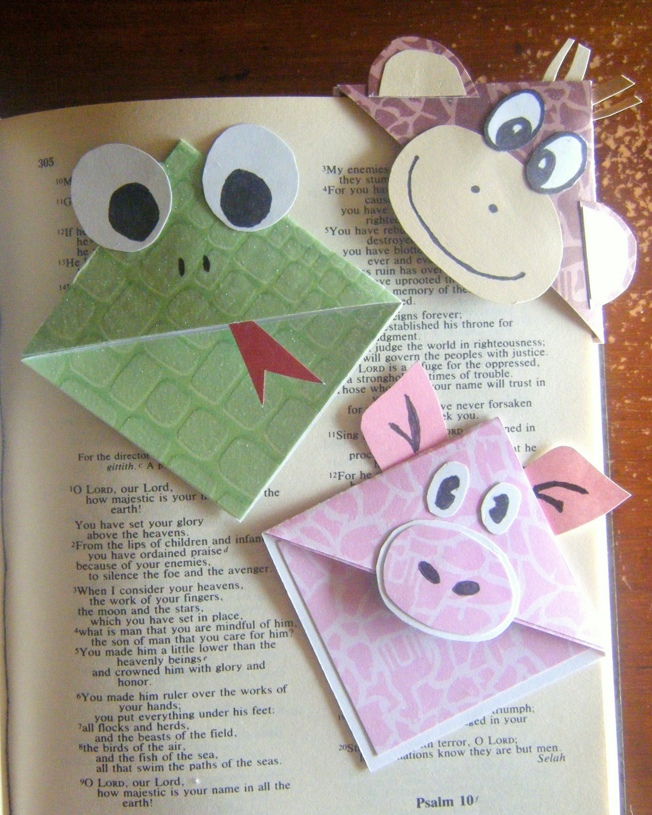 diy creative bookmarks images