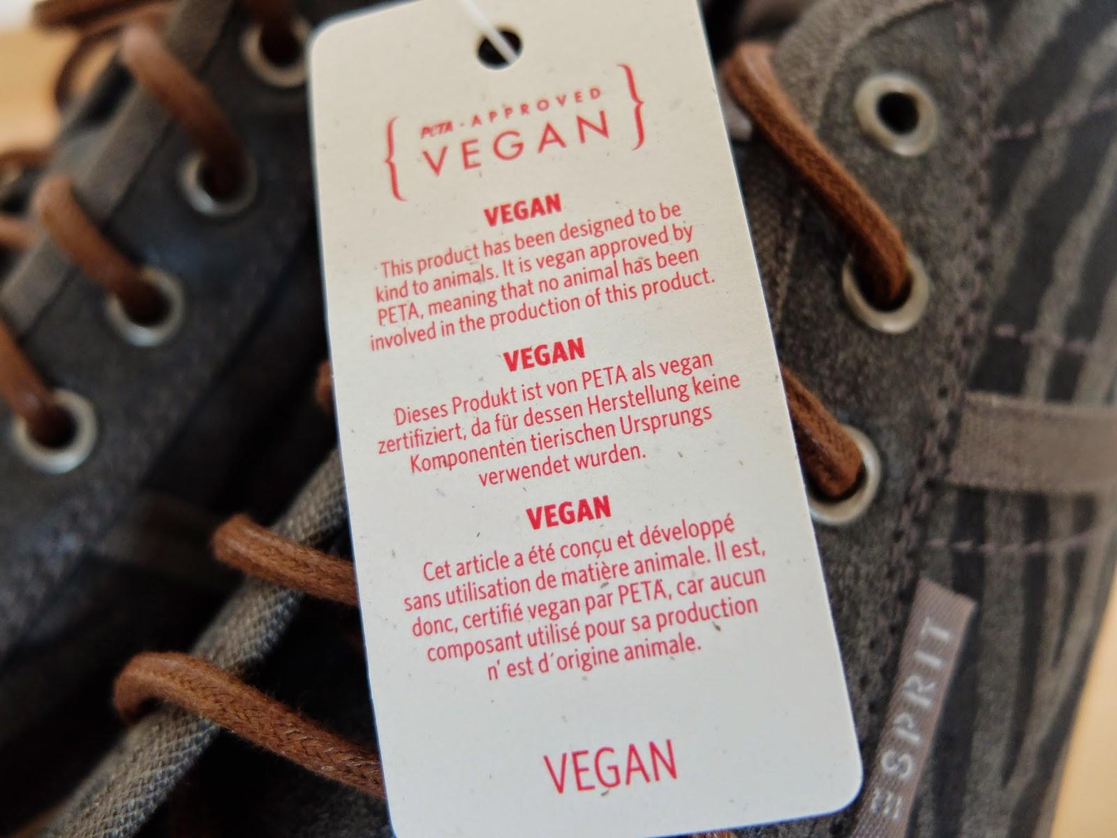 Vegane Schuhe bei Esprit