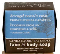 Good Fortune Lavender Sandalwood soap