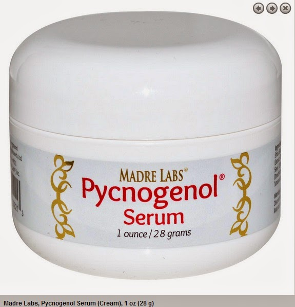 Madre Labs, Pycnogenol Serum (Cream), 1 oz (28 g)