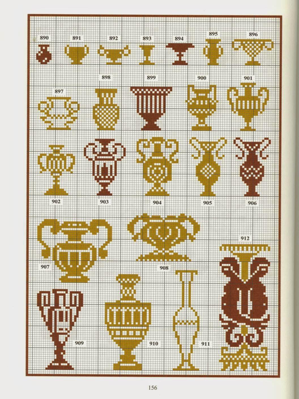 Схема вышивки гречанки 48