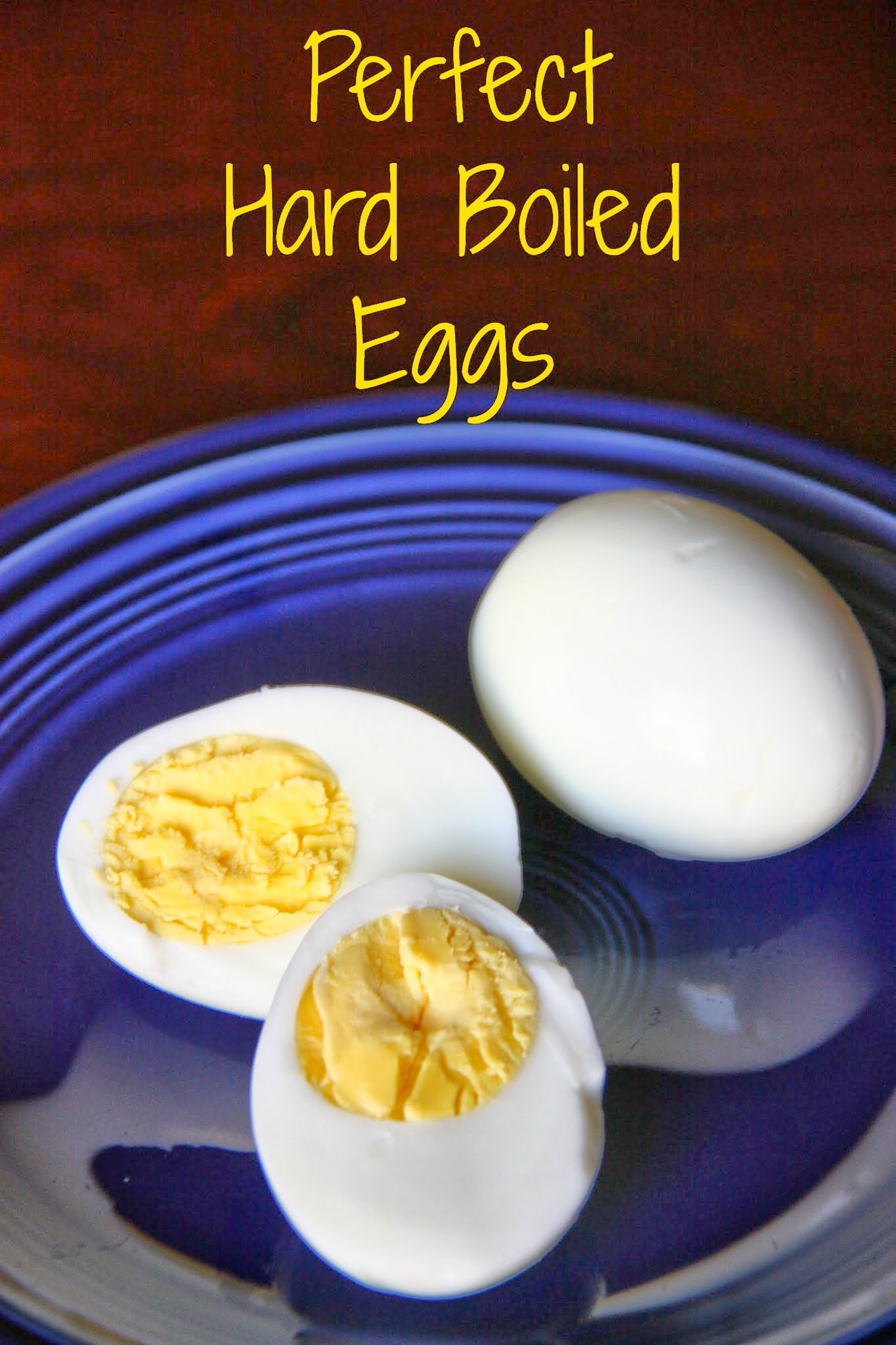 ... every time. No grey or runny yolk. Just perfect hard boiled eggs
