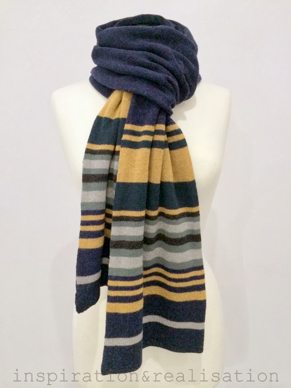 inspiration and realisation: DIY fashion blog: DIY machine knitting: striped ...