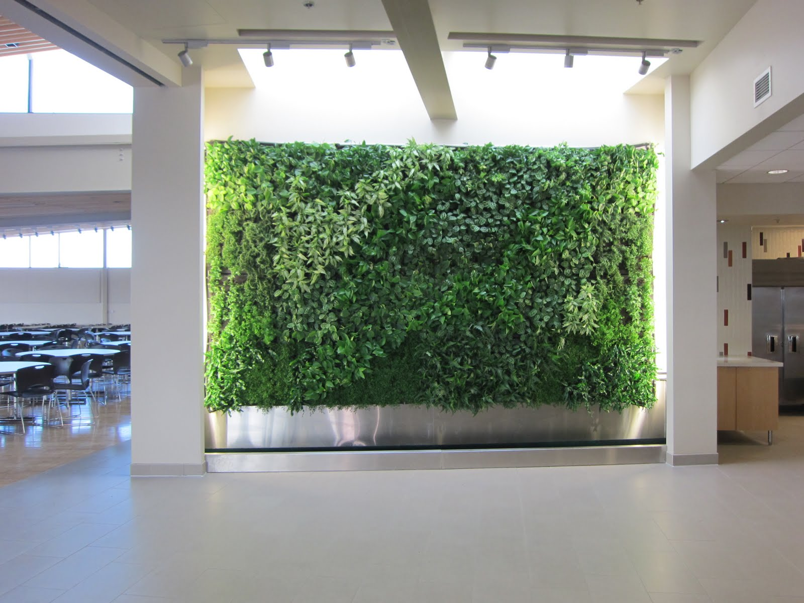 Lively Elements Dining Hall Living Wall Englewood Colorado