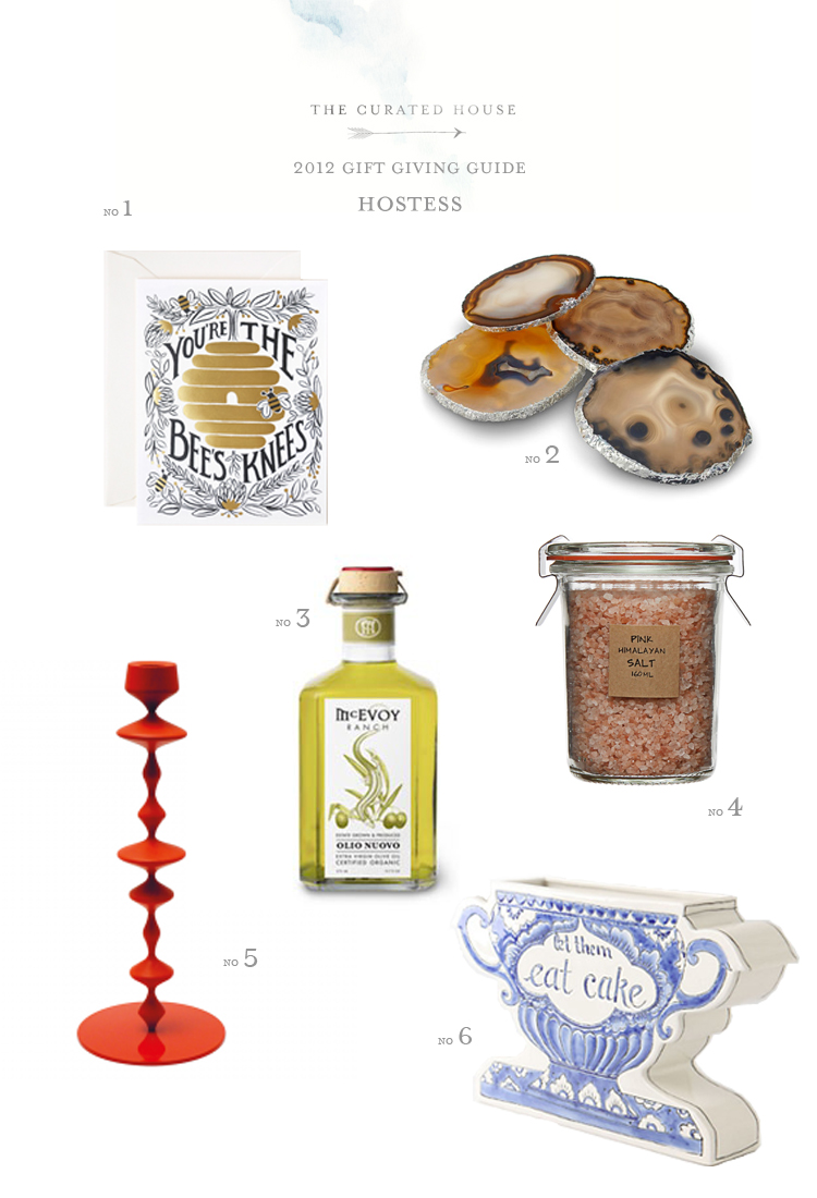 Hostess Gift Guide 2012 The Curated House