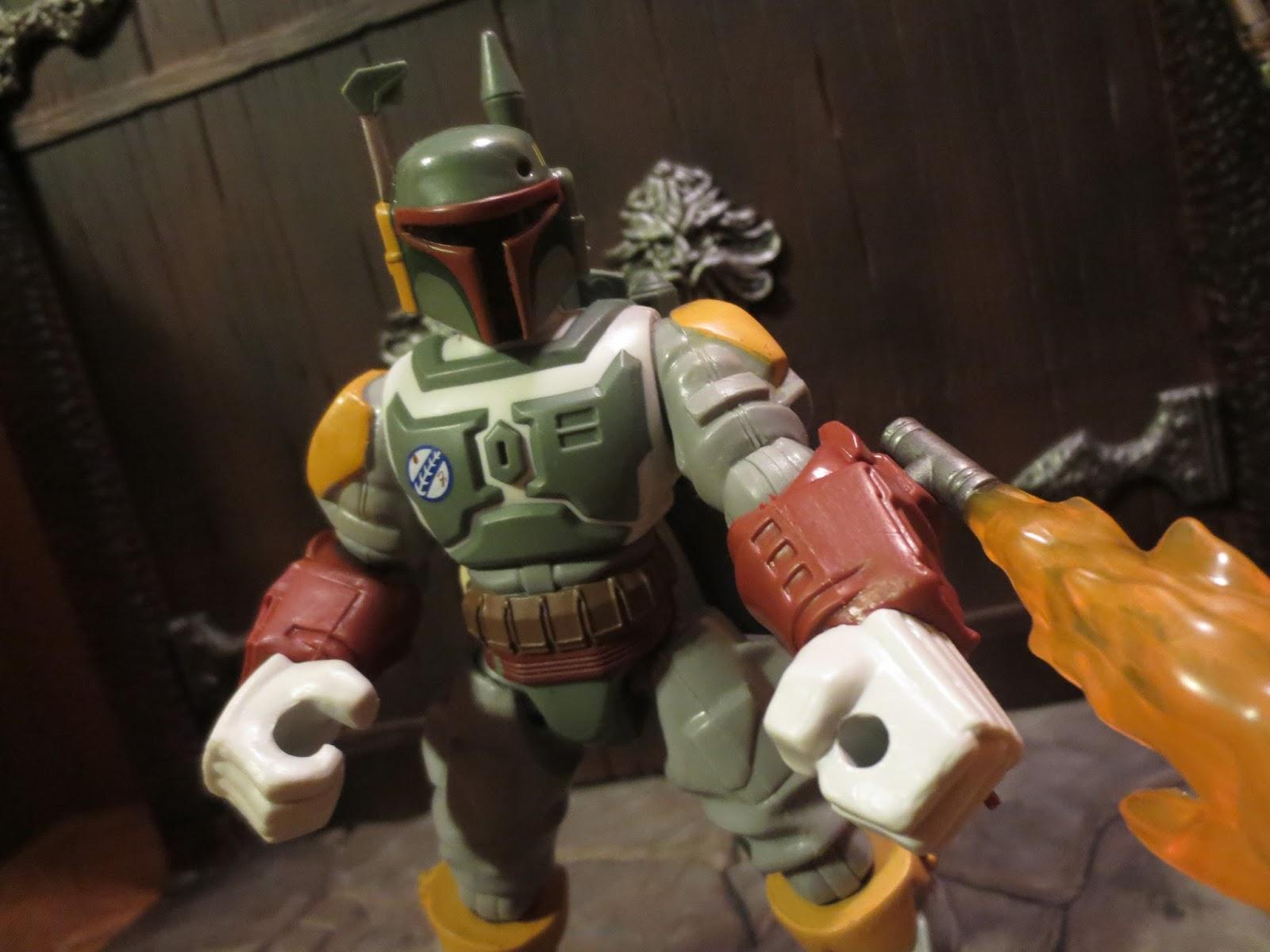Star Wars Hero Masher Deluxe Boba Fett Action Figure