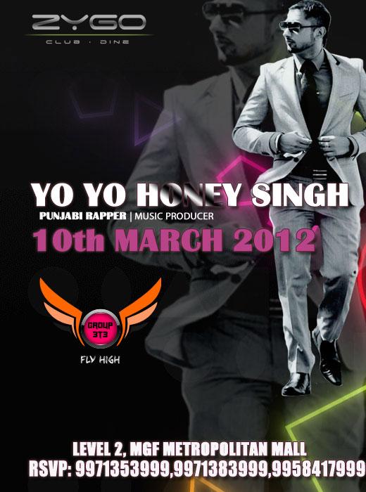 Honey Singh Events MFG Metropolitian mall Gurgaon April 20 2012