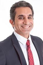المذيع الكوميدي المصري باسم يوسف Bassem Youssef