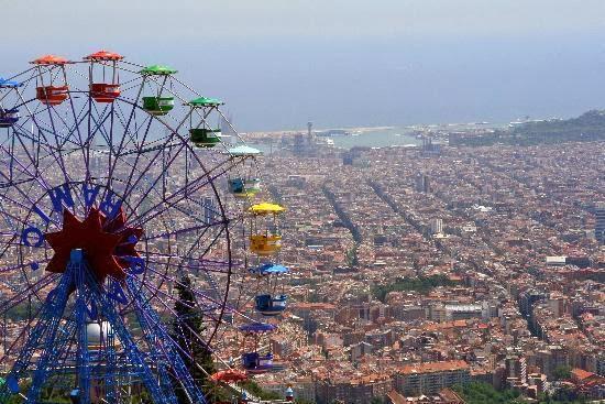 tibidabo - escapada a Barcelona