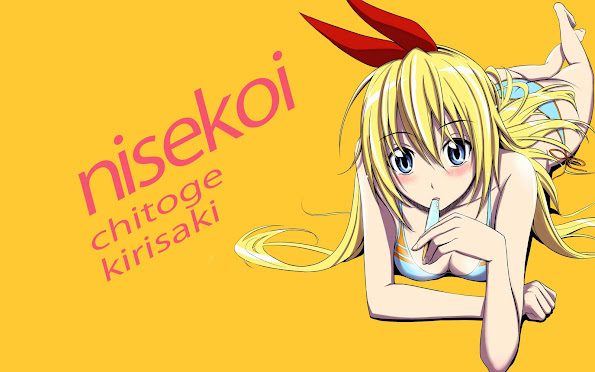 chitoge kirisaki nisekoi anime 2014 hd wallpaper