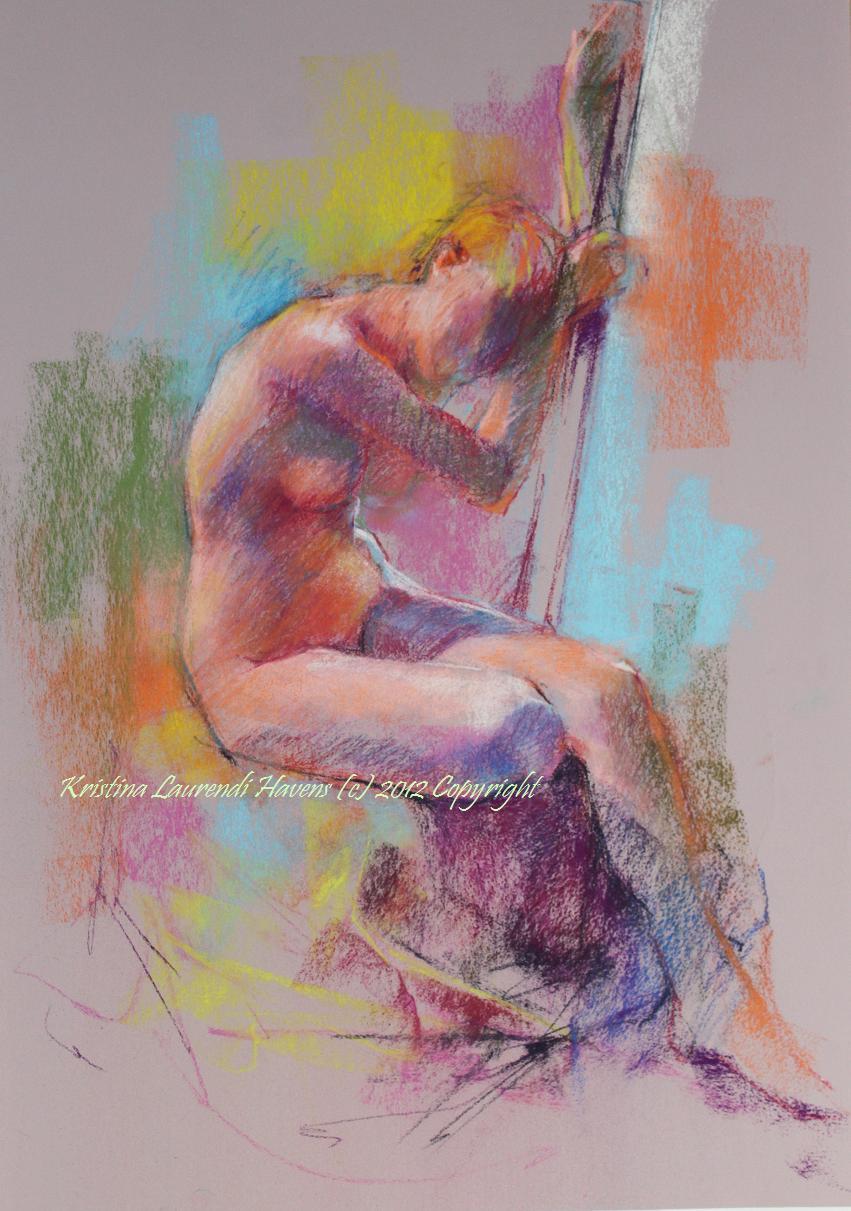 Pastel nudepaintings Nude Photos 91