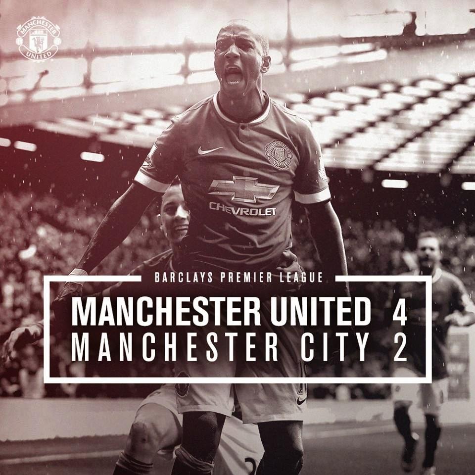 Video Cuplikan Gol Manchester United vs City 4-2