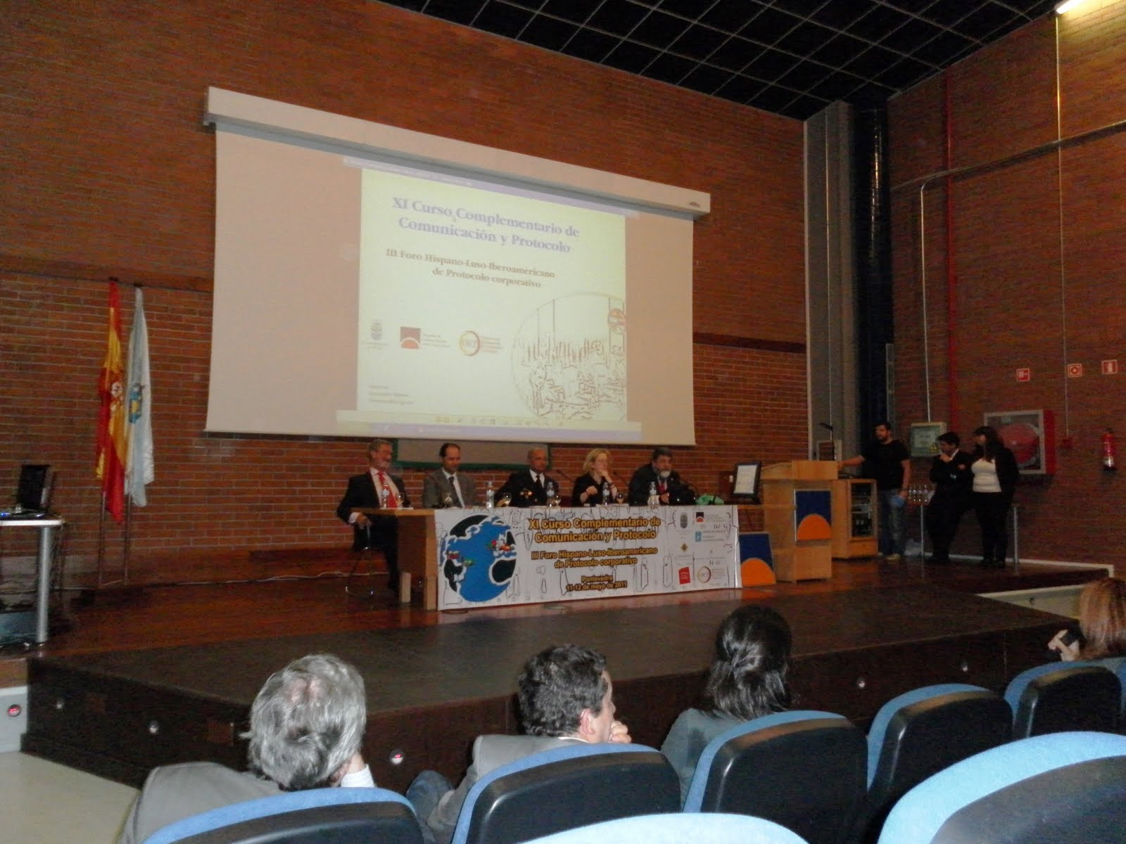 Foro de protocolo y comunicación en la Universidad de Vigo, por Olga Casal