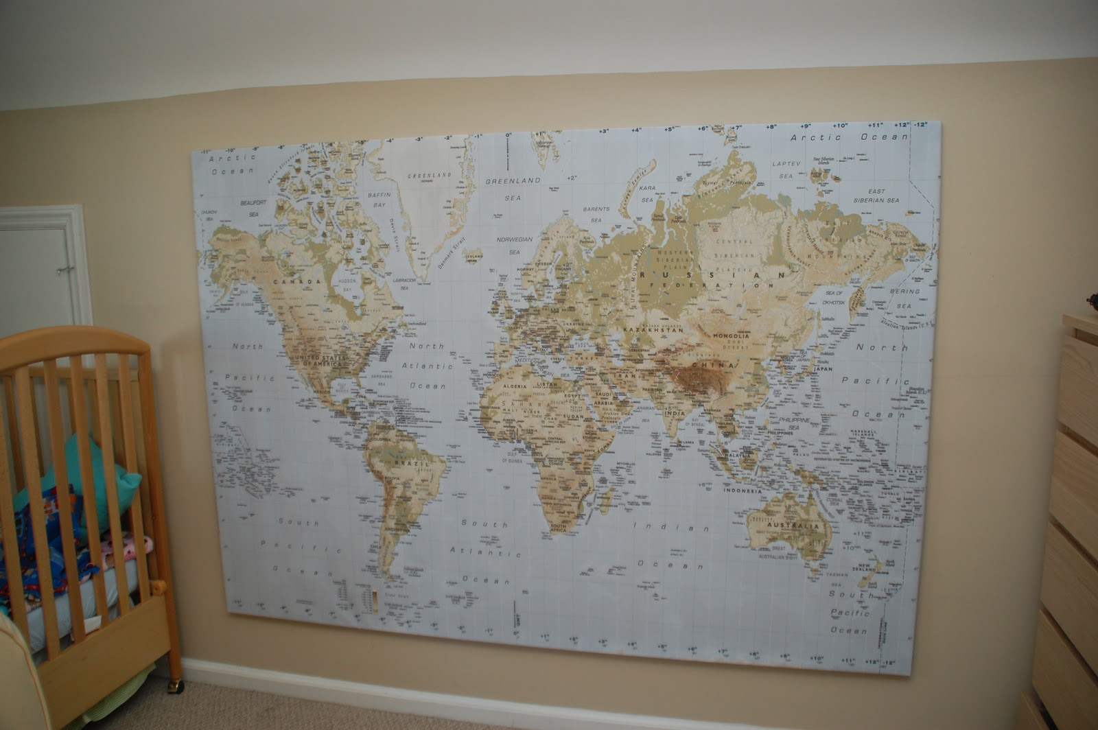 Map of the world ikea map of the world ikea this thing is enormous and i was hoping that it gumiabroncs Gallery