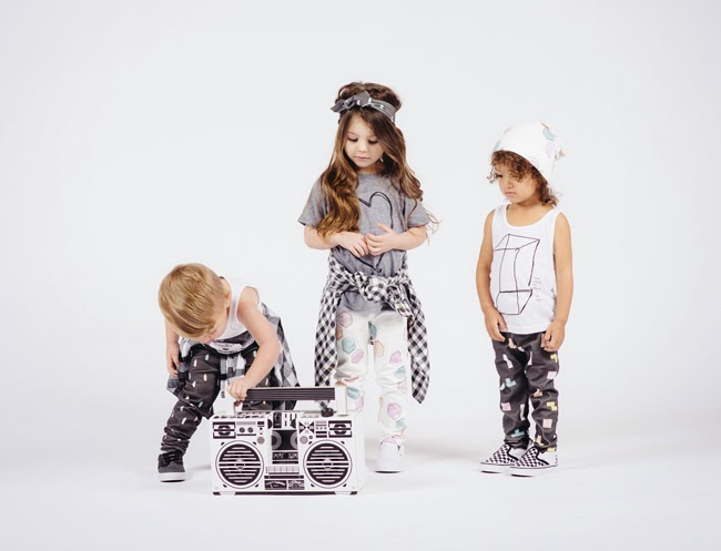 LOT801 SS15 kidswear collection + Boombox Berlin