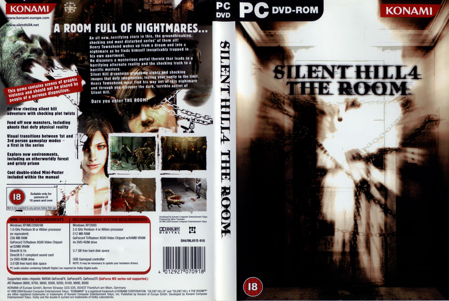 Silent Hill 4 The Room ~ DvD High
