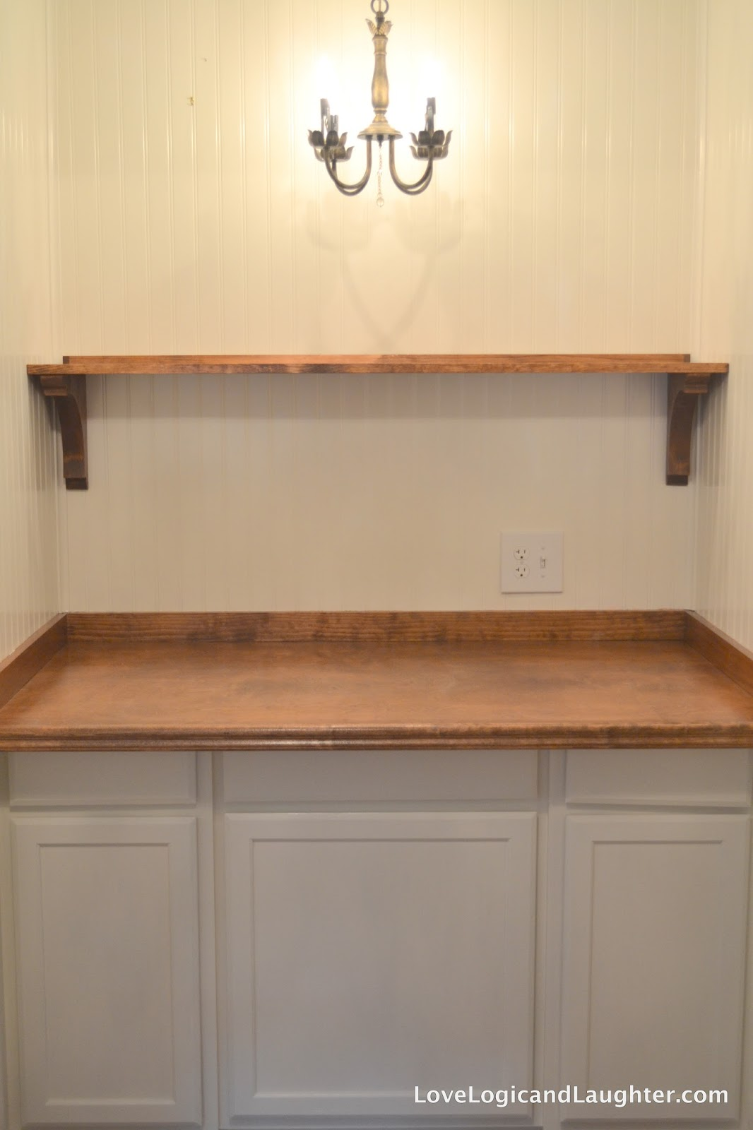 Our New Butler's Pantry / Our Coffee Bar: Turn a Closet ...