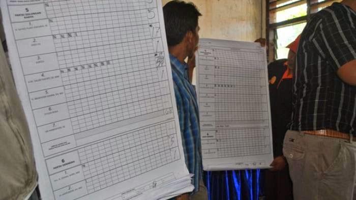 Hasil Lengkap Rekapitulasi Suara Pilpres di 34 Provinsi