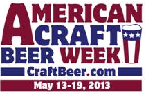 American Craft Beer Week May 13-19 2013