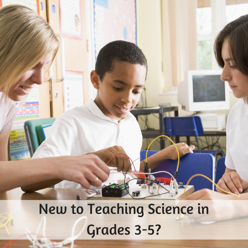 Latest Scientific News: New To Teaching Science In The Grades 3-5?