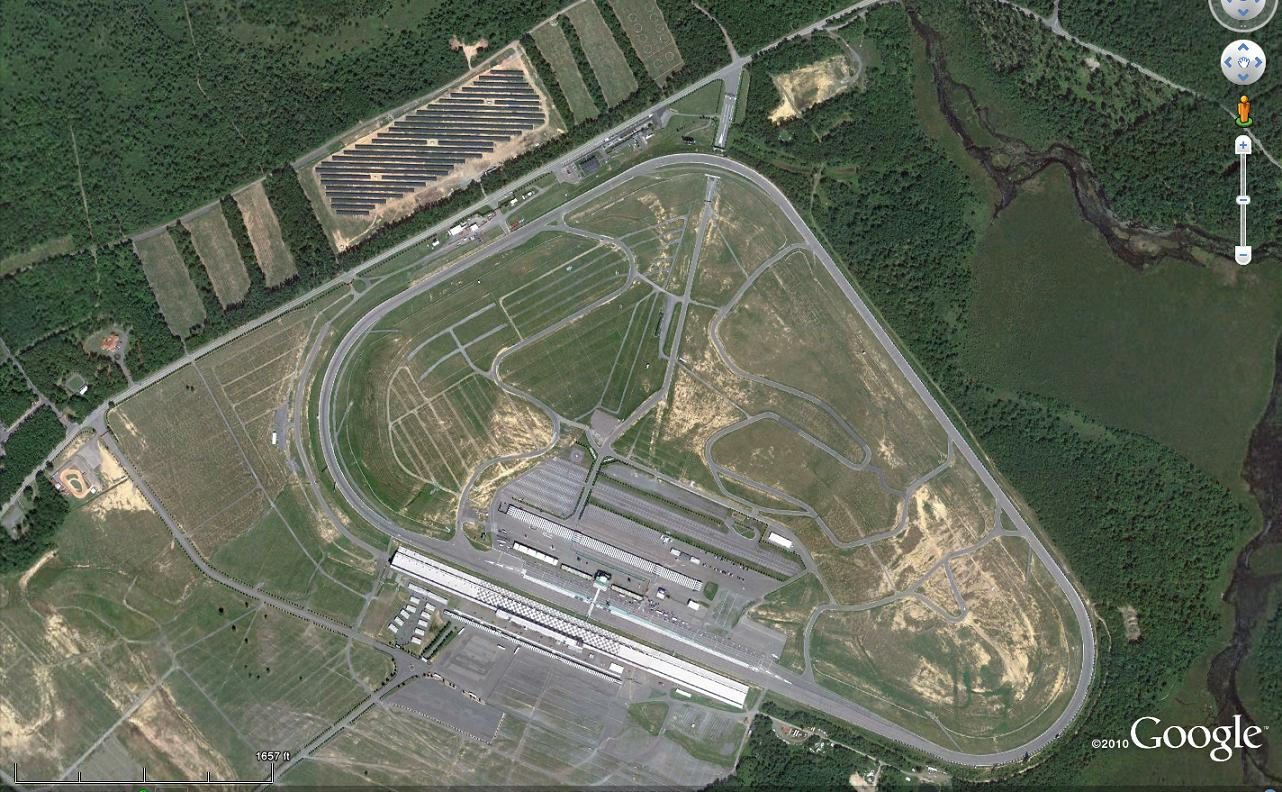 Nepa Solar Solar Power At Pocono Raceway