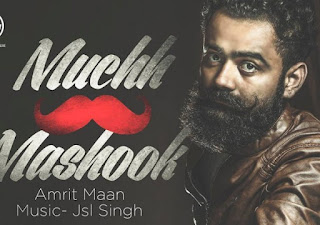 Muchh Te Mashook Lyrics – Amrit Maan