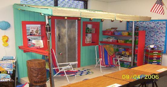 Classroom Ideas Beach Theme ~ Beach ocean themed classroom clutter free