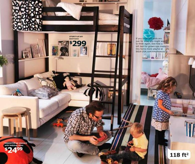 Dwellings by devore bunk beds done right - Ikea small spaces floor plans collection ...