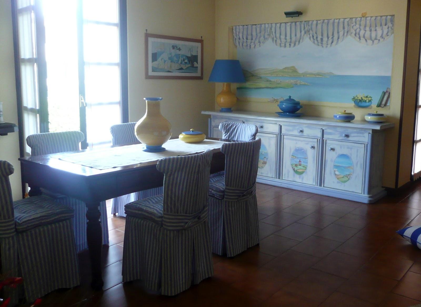 Credenza Per Casa Al Mare : Il patchwork veste casa ambiente marinaresco