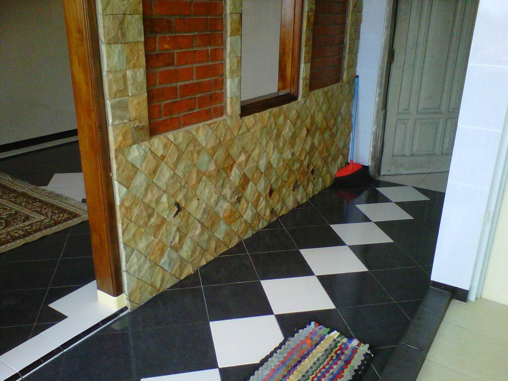 INFO HARGA BAHAN BANGUNAN: Dinding Rumah semakin cantik dengan Batu ...