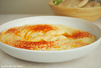 Hummus de garbanzos