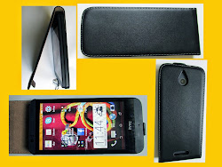 Genuine Real Leather Flip Case Cover For HTC Desire 510