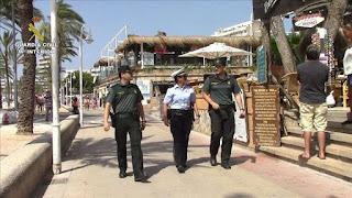 Agentes de cinco países para un turismo más seguro