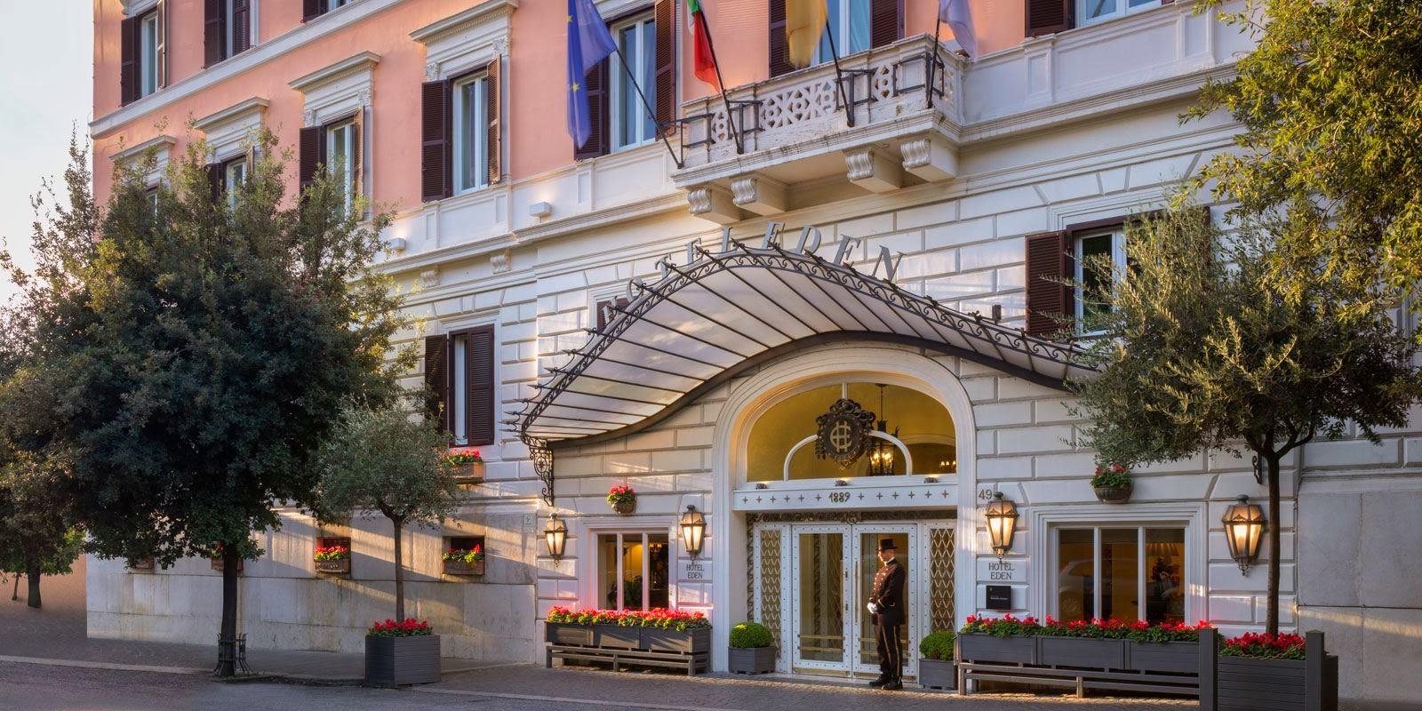 Passion for luxury luxurious hotel eden rome italy - Hotel eden en roma ...