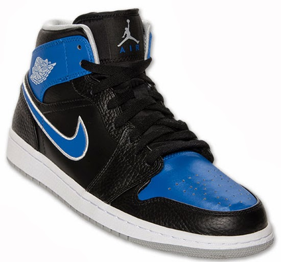 b44f17f95b0 This Air Jordan 1 Retro Mid colorway was inspired by the Orlando Magic.  They come in black
