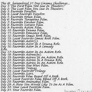 31 Day Film Challenge