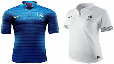 Jersey / baju Perancis EURO 2012