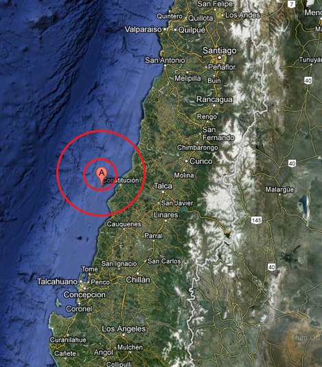 offshore maule, chile earthquake 2013 March 29