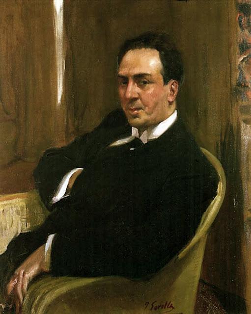 Antonio Machado , Joaquín Sorolla, retratos