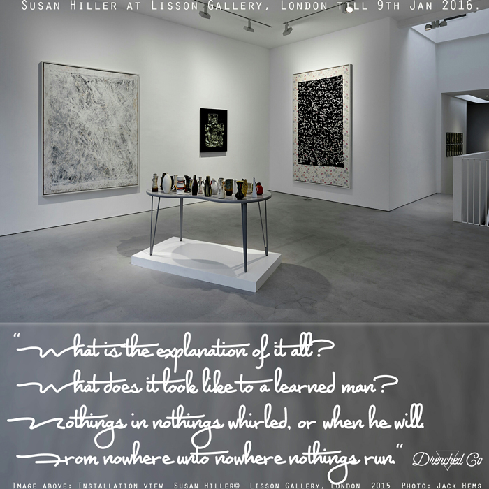 Image of Lisson Gallery, London with art exhibition review by Drenched Co.