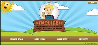 Memolibras - Conhecendo os Animais na Línga Brasileira de Sinais
