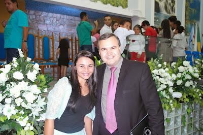 Francielle Miranda e Pastor Jean Porto