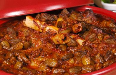 Lamb shank okra tajine recipe arabic food recipes forumfinder Images