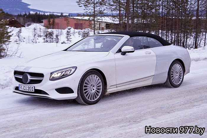 Mercedes-Benz S-Class Cabriolet Новости 977.by